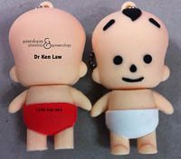 USB Memory stick given to you at first antenatal visit with Brisbane Obstetrician Dr Ken Law