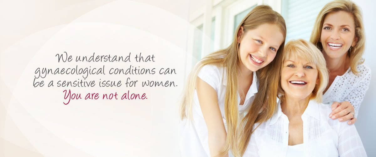 Gynaecological Care - You are not alone