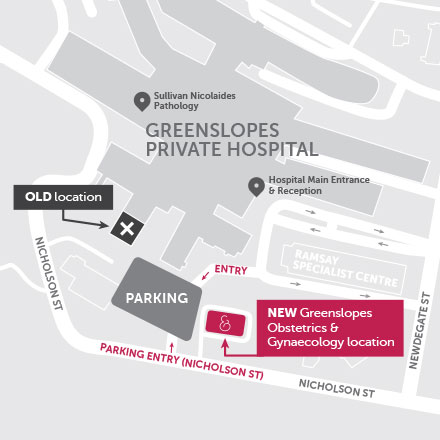 New Location for Greenslopes Obstetrics and Gynaecology